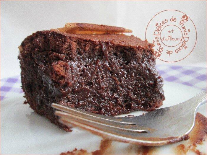 gâteau ultra fondant au chocolat 3