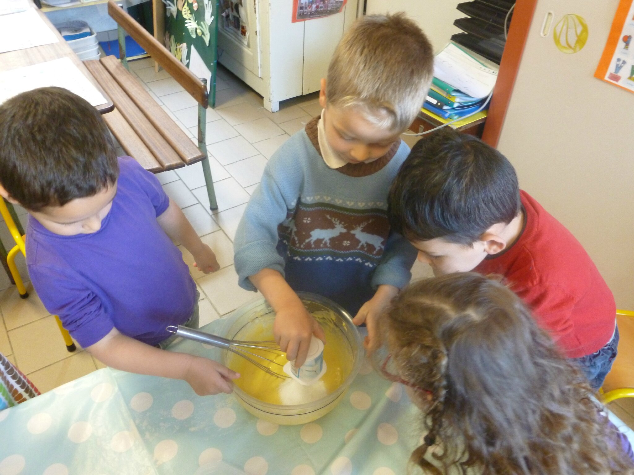 Atelier cuisine avril et anniversaires en maternelle - Atelier cuisine maternelle ...