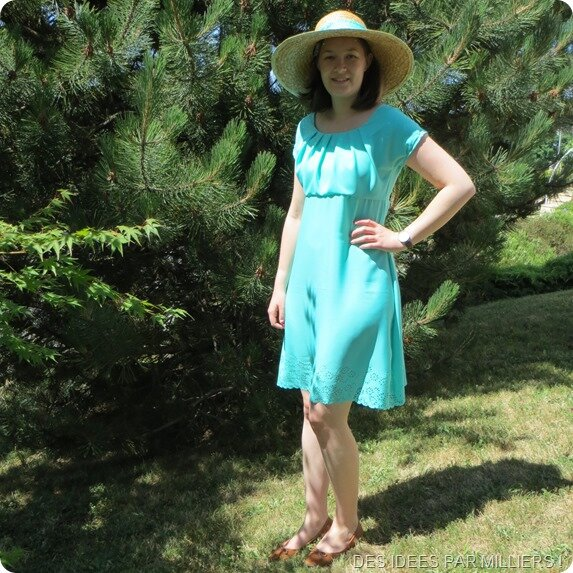 La robe/top Kathryn – Itch to stitch pattern