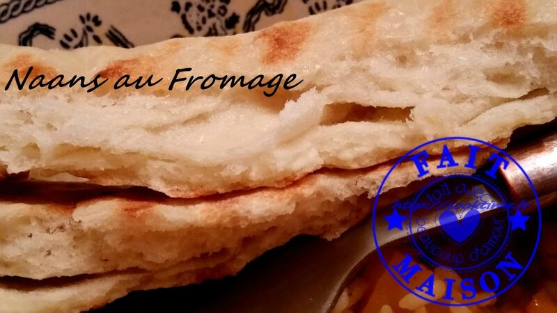 Naans au fromage 7