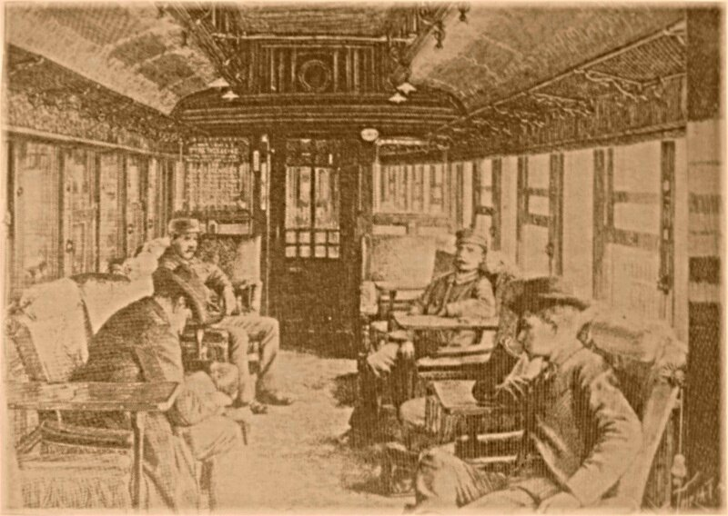 1902- Train Orient Express