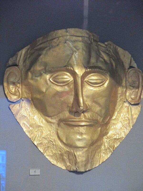 61 Masque d'Agamemnon
