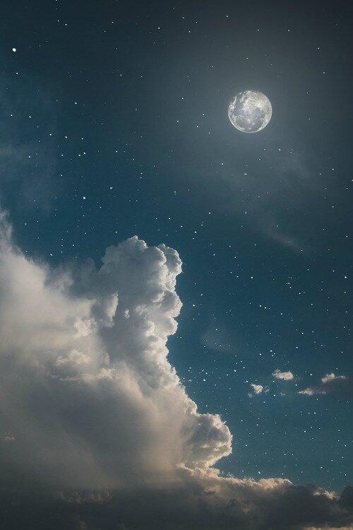 Magie Naturelle :Pleine lune de Mai
