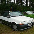 Renault super 5 tl cabriolet
