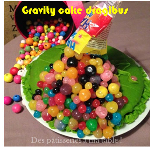 gravity cake dragibus