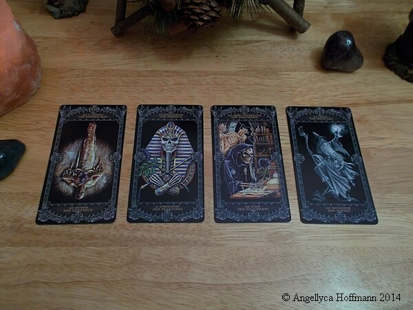 Tarot Alchemy 4 - Blog ésotérique Samhain Sabbath