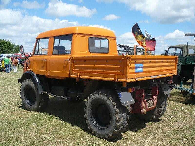 UNIMOG type 416 double cabine 1969 Eutingen (2)