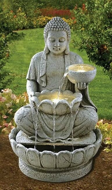 100 tendance la fontaine ext rieure la minute de co for Fontaine exterieur bouddha