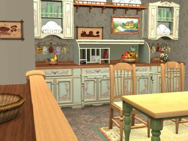 Cuisine style cottage anglais for Deco cottage anglais