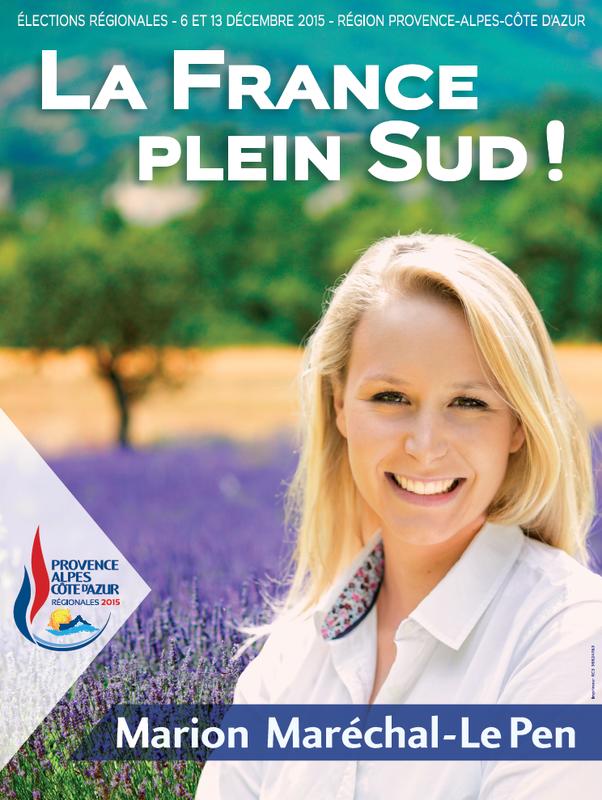 Affiche campagne régionales 2015 PACA