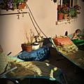 Terrasse au soleil