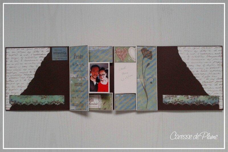 Cadeau anni steffy - Page de droite ouverte