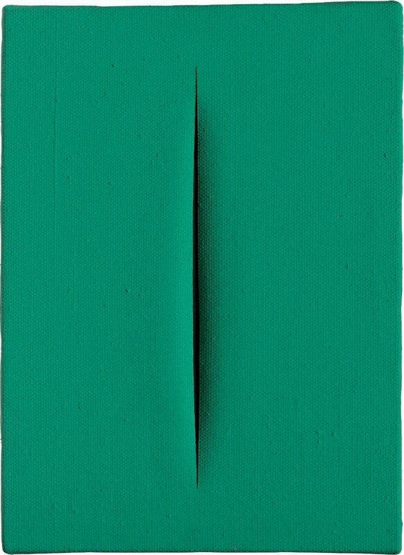 Lucio Fontana (1899-1968), Concetto spaziale, Attesa, 1966