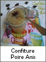 confiture poire anis weight watchers
