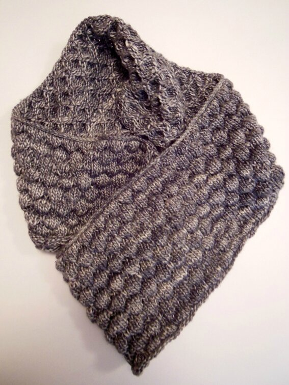 Snood en Graine de laine 1-5