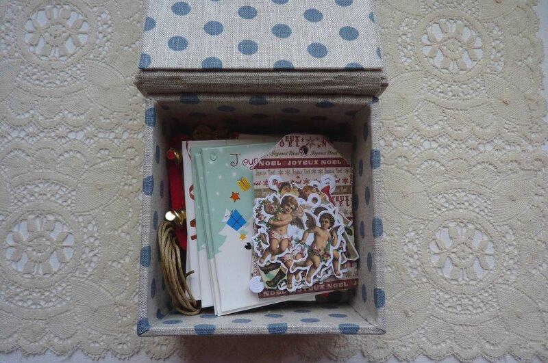 Cadeau Emmanuelle - boîte dedans