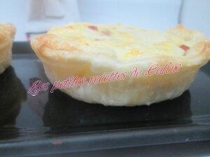 Tartelettes au jambon de Savoie et fromage27