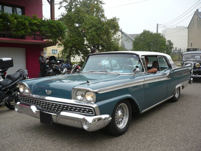 FORD Fairlane 500 Galaxie 2door hardtop 1959 Hambach (1)