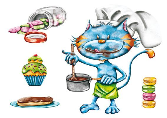 sticker-patisserie-chat
