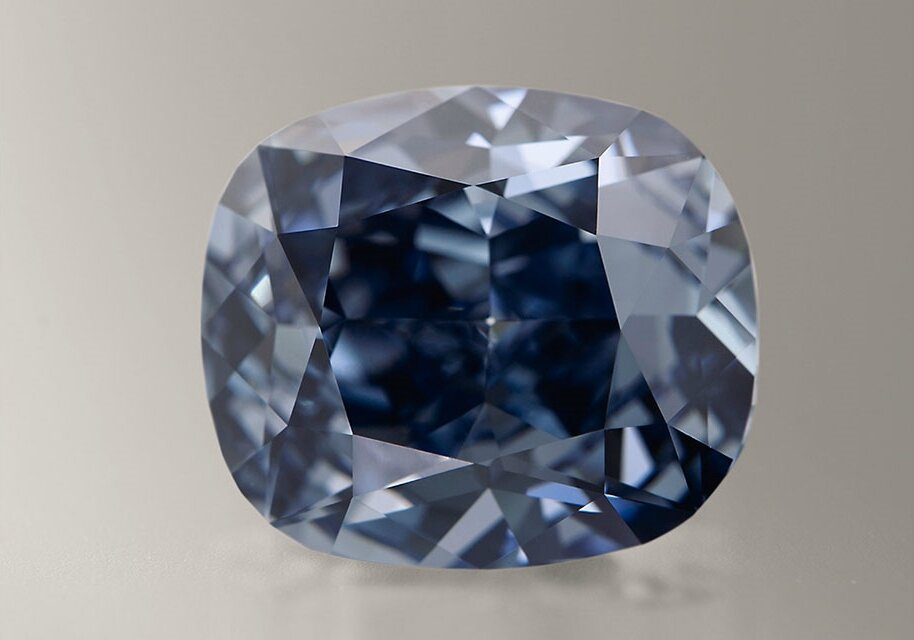 'Flawless' blue diamond may fetch record $55 million: Sotheby's auction house