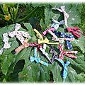 nuée de papillons