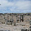 La cité antique de théra, santorin
