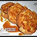 Pain perdu sucr ou sal...