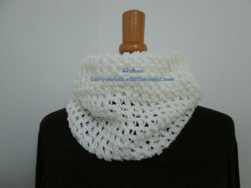 Col snood blanc (2)