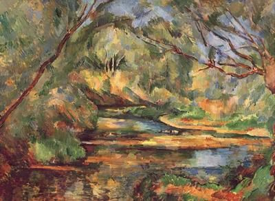 Paul_Cezanne_Landscape_with_Brook_161340