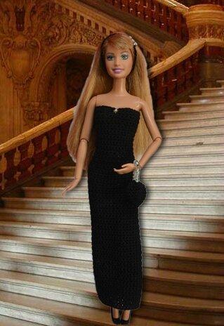 Barbie défi petite robe noire 2