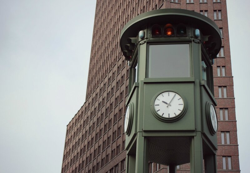 signalisation historique Berlin