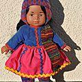 La péruvienne - poupée mini-Corolline - Corolle