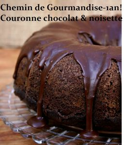 Couronne chocolat &amp; noisette de Ocane
