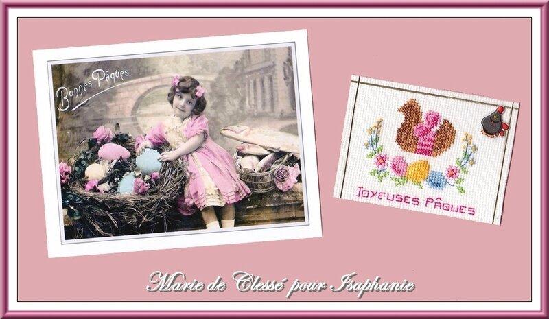 Échange ATC Perso (Pâques) Marie de Clessé pour Isaphanie 2