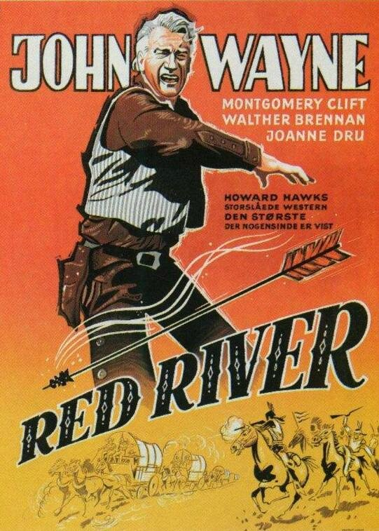 Affiche La rivière rouge