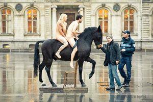 cheval et le gendarme