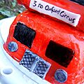 8 septembre 2011 - part 5 - LONDON BUS CAKE -