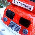 8 septembre 2011 - part 5 - london bus cake -