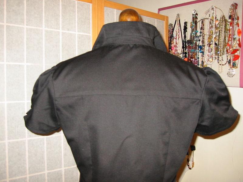 chemisier noir 4