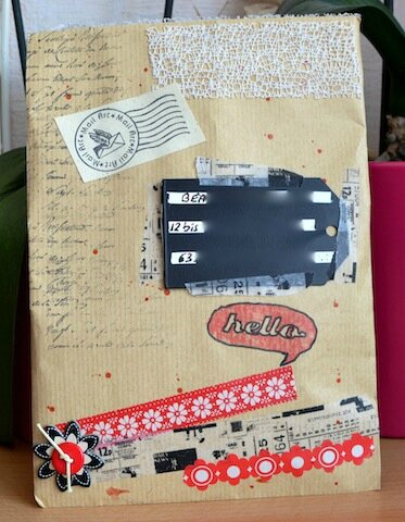 Mail Art Maud recto - Avril 2014