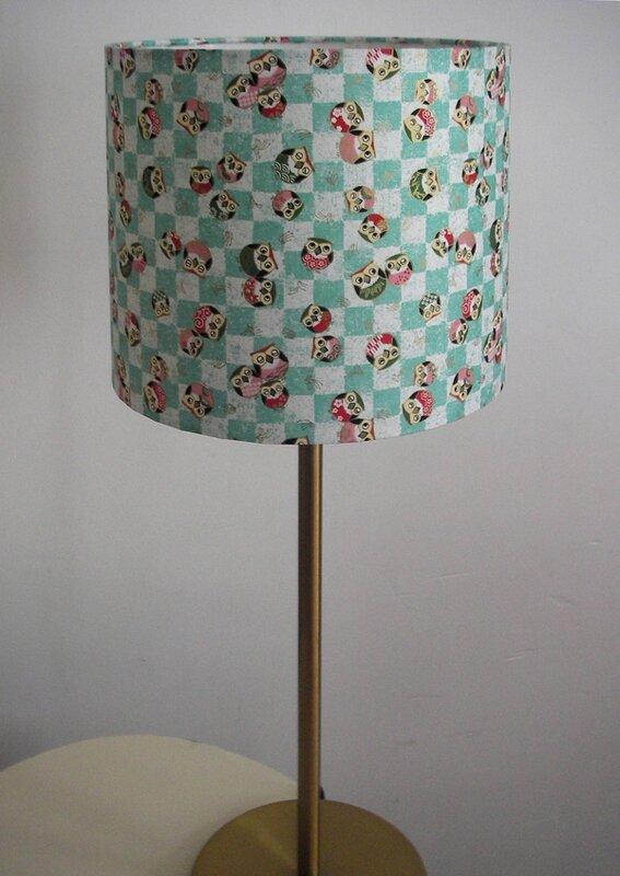 Chouette lampe les fil feuilles - Creation abat jour papier ...