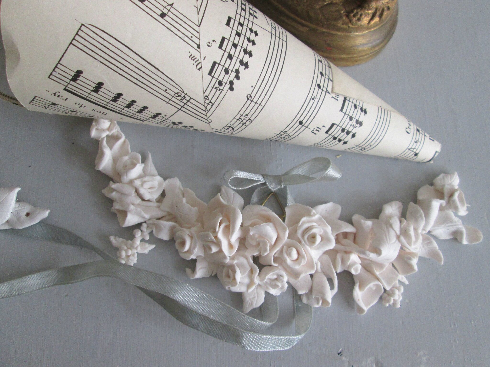 Guirlandes de fleurs style XVIII