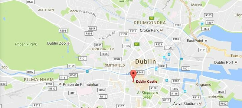 Dublin Castle Plan