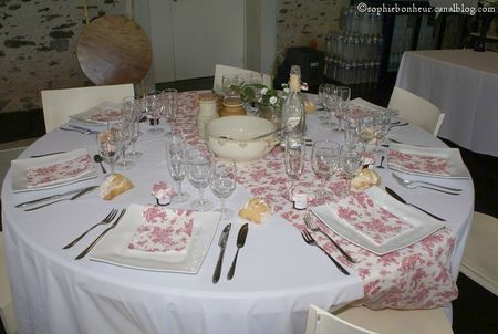 mariage table Jouy