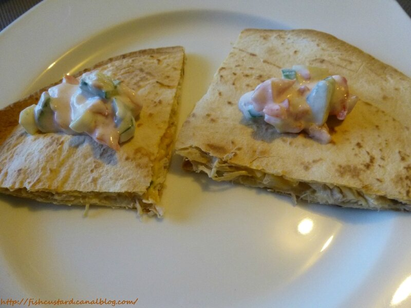 Quesadillas poulet fromage (8)