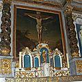 Restauration du tableau du retable de l'église de clavas