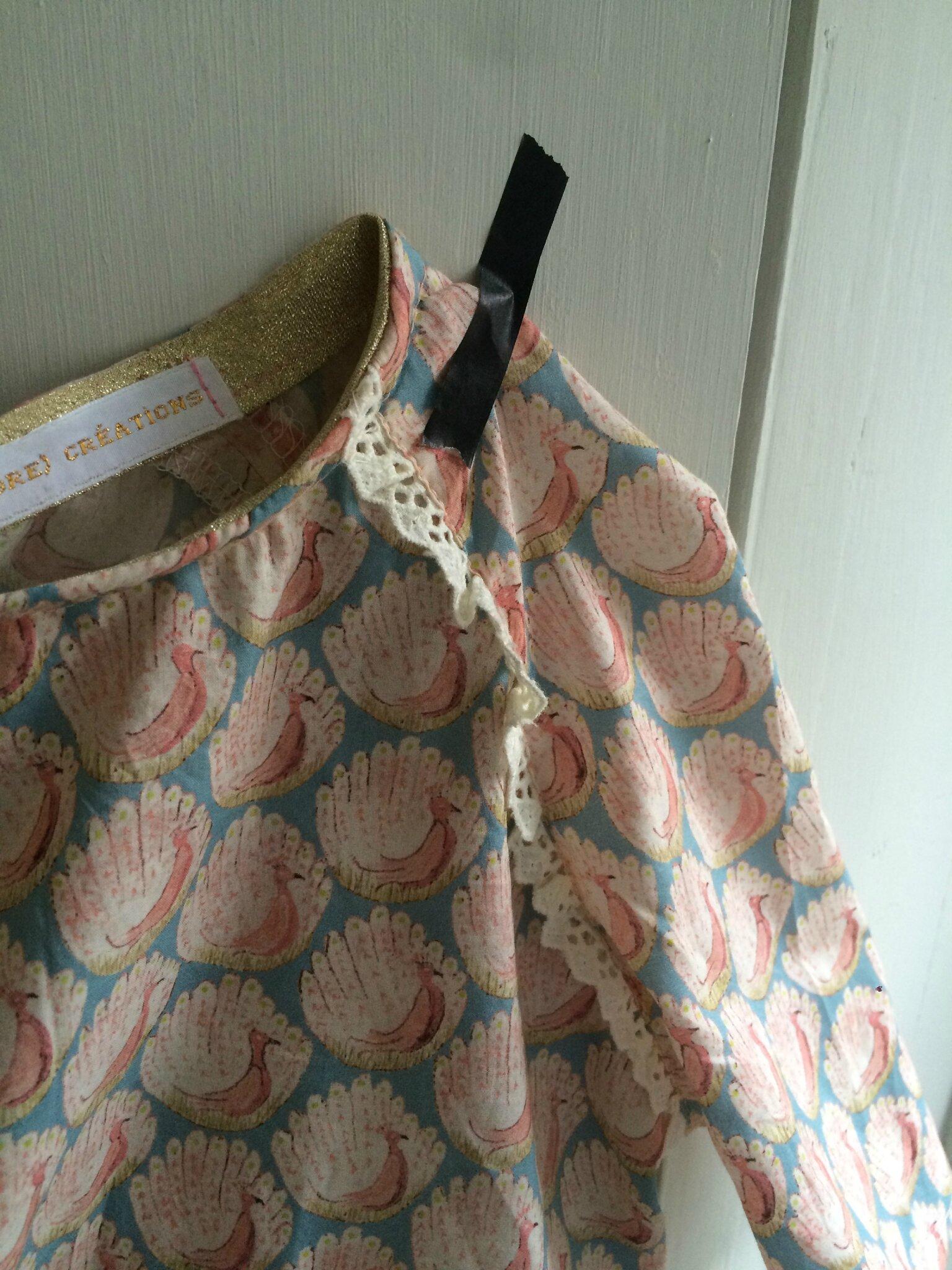 Mini Marthe ou commencer le vestiaire d'été...