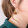 Créer des boucles d'oreilles style bohème à perles