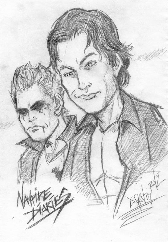 Crayonn the vampire diaries photo de fleuril ge de - Vampire diaries dessin ...