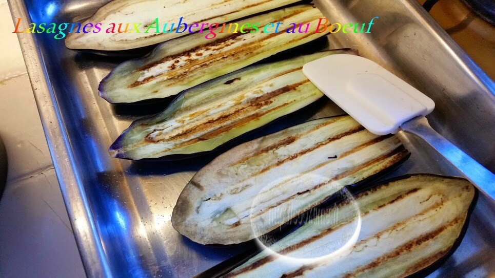 Lasagnes aux aubergines et au boeuf au thermomix 2